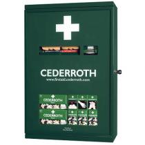 Cederroth första hjälpen skåp med dubbeldörrar