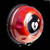 Rotaid Solid Plus - Inom/utomhus med larm, röd