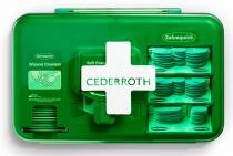 Cederroth Wound Care Dispenser - Blå