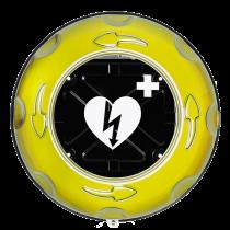 Rotaid Plus - Inomhusskåp med larm, gul