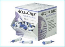 Lansett Accu-Chek, Safe-T Pro Plus 3 stickdjup