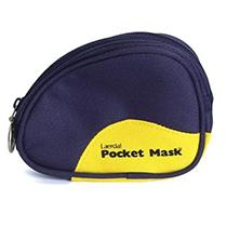 Laerdal Pocketmask i blå mjukväska