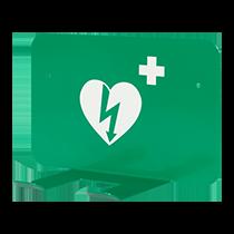 Väggfäste universal hjärtstartare