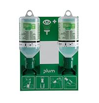 Plum väggstation inkl 2 st 500ml flaskor