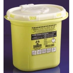Kanylburk plast BD Sharps 7,0L