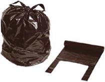 Plastsäck 125 l med handtag